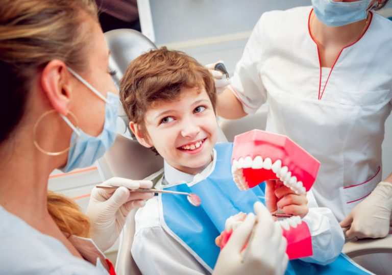 pediatric dentistry newton ma | patient and dentist